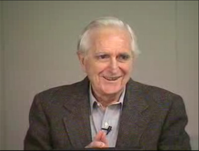 Doug Engelbart at the 2000 Colloquium