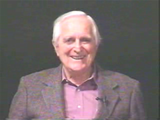 Doug Engelbart at the 1998 30th Anniversary Event