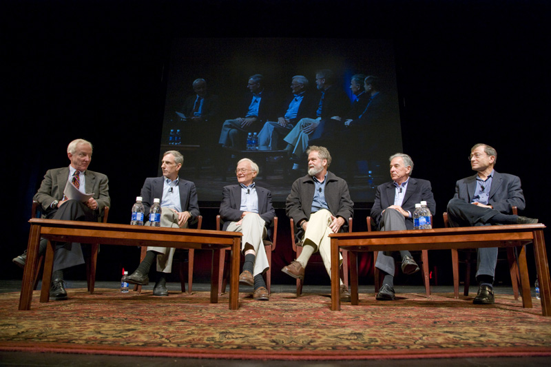 Photo of panel discussion at the event