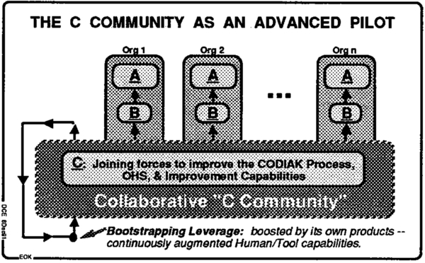Figure-6. THE C COMMUNITY AS AN ADVANCED PILOT